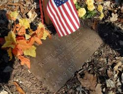 Soldier's grave to be moved due to U.S. 35 construction