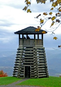 Lookout Tower at Droop Mountain Battlefield State Park