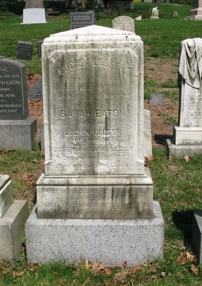 Grave Marker of Lucien Loeser