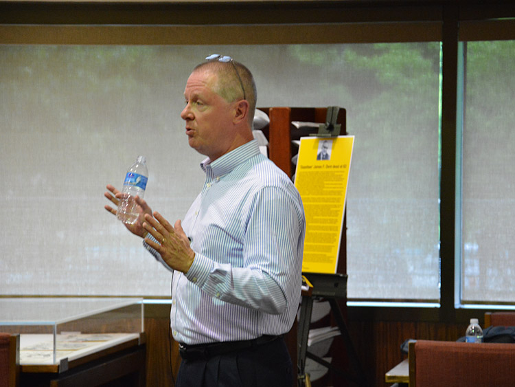 Photos: Lecture by Steve Cunningham at WV State Archives
